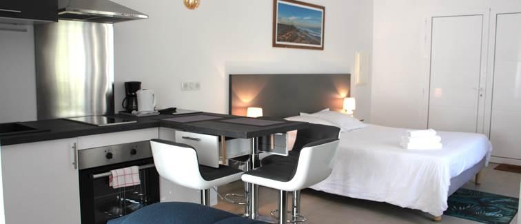 Studio Hotel le Rond Point Hossegor Landes