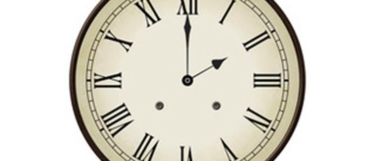 horloge 14h
