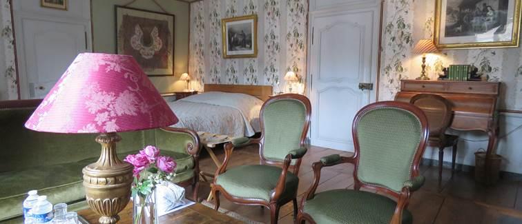 Château de Crocq, chambre De La Redorte.