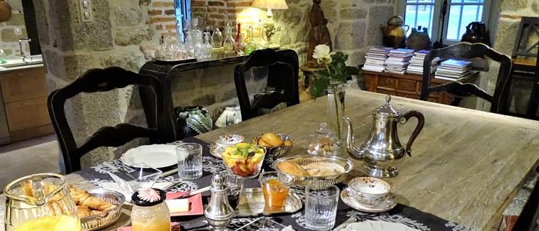 Château de Crocq, Petite salle à manger.