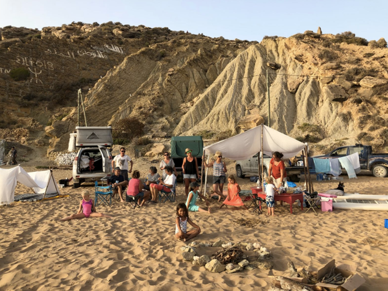 Riad Baoussala - Bivouac été 2018 Iftane plage