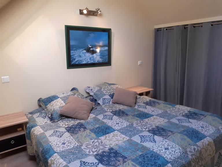 Clos de la Fontaine Dinard, chambre avec 2 lits en mezzanine 1
