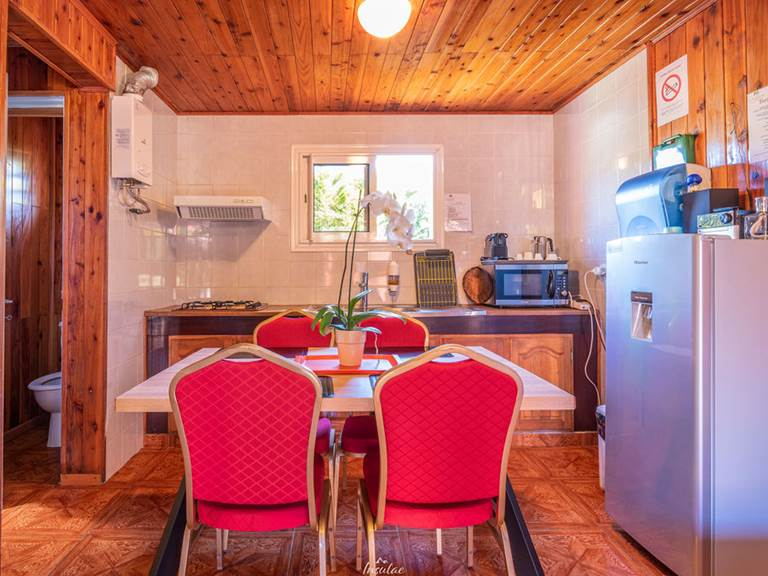 kichenette salle à manger bungalow premium