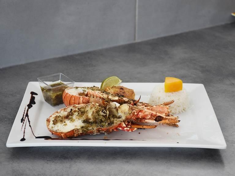 Langouste restaurant saint francois