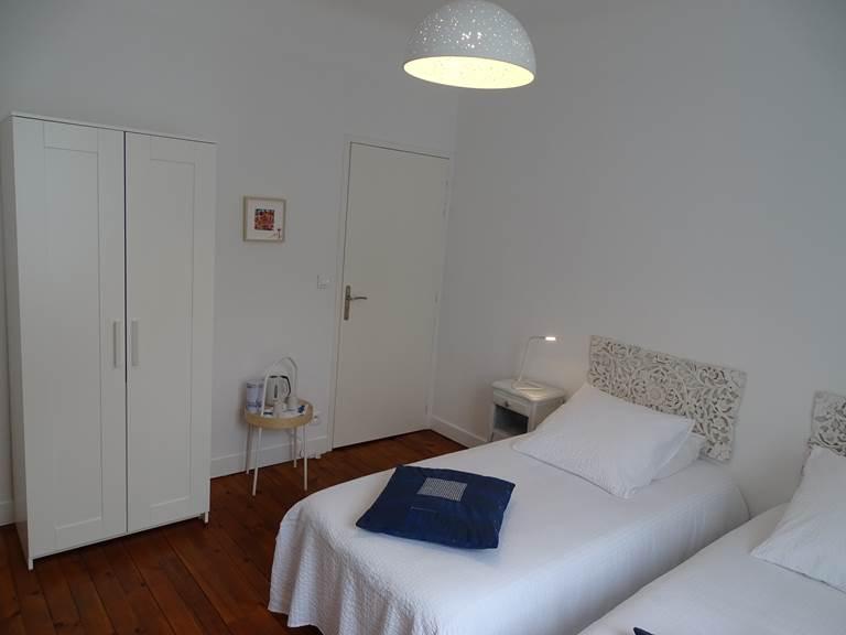 Occitane offre deux lits en 90, une salle d'eau et un WC séparés