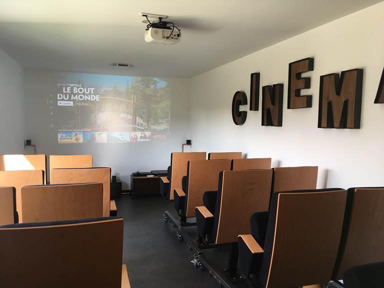 villa charles & ashton salle cinéma & ps4