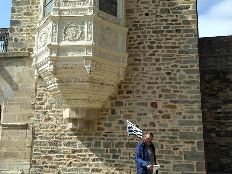 Balade découverte gyropode chateau de Vitré
