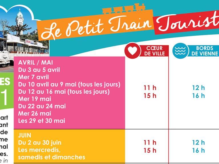Calendrier Le Petit Train 2021_2
