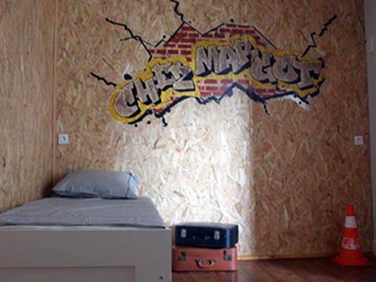 chambre dortoir - lit 80 ou 2 x 80