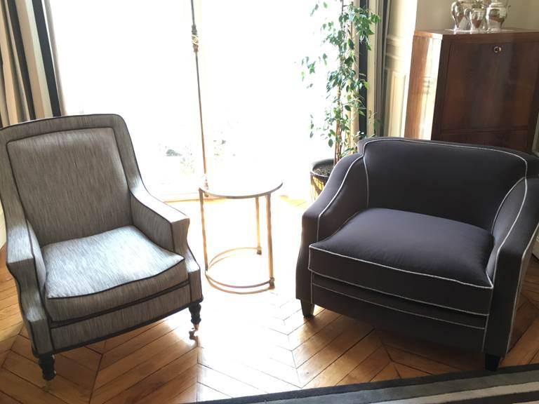 Salon fauteuils nouveaux