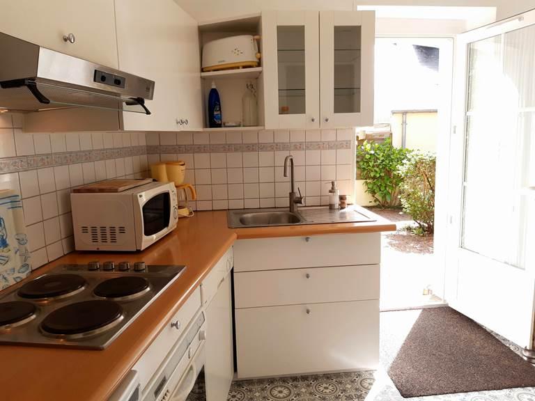 Clos de la Fontaine Dinard, cuisine séparée du 4