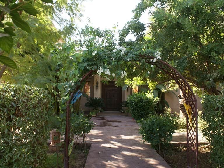Entré de la Maison d'hôtes Aâlma d'Or à Marrakech