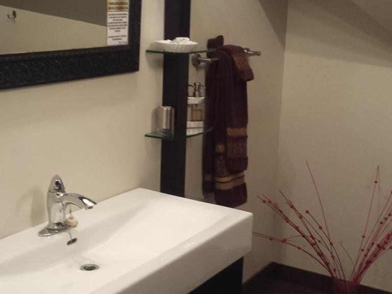 Evier salle de baie