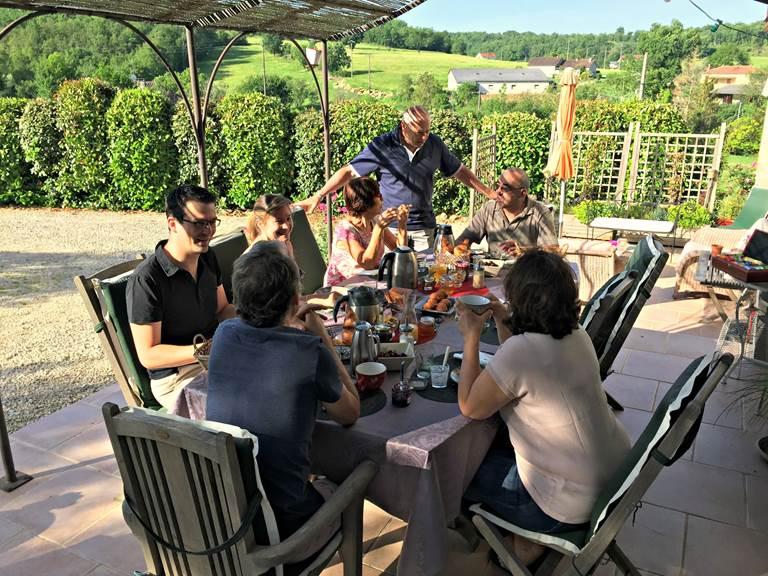 Petits déjeuners à Côté Granges (6)