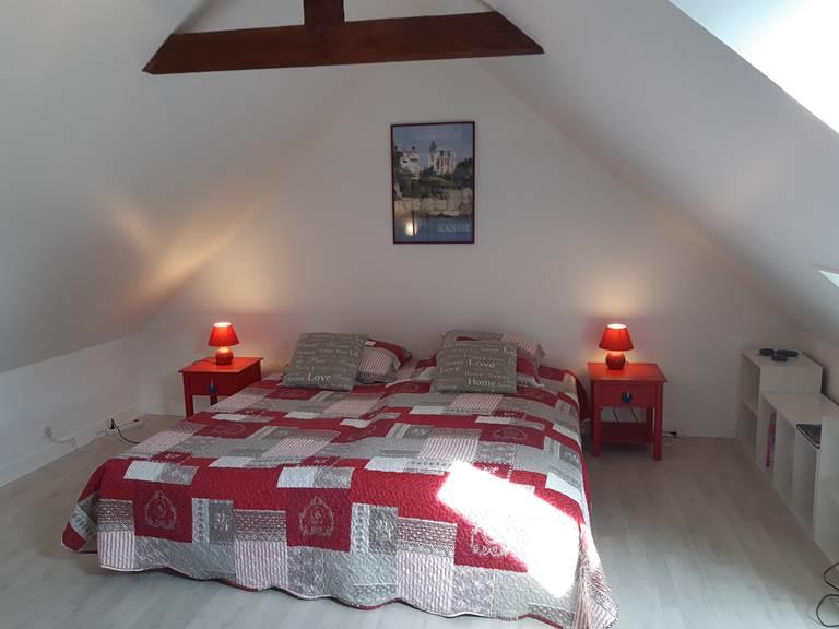 Clos de la Fontaine Dinard, chambre avec 2 lits du 3