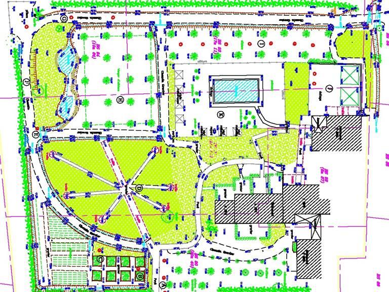 plan jardin d alcinoos