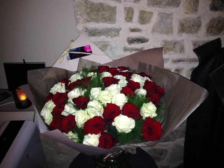 photo fleurs gite luxe