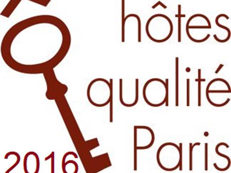 Hôtes Qualité Paris  2016