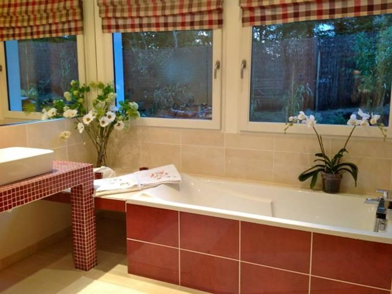 Salle de bains Douche à l'italienne et Baignoire