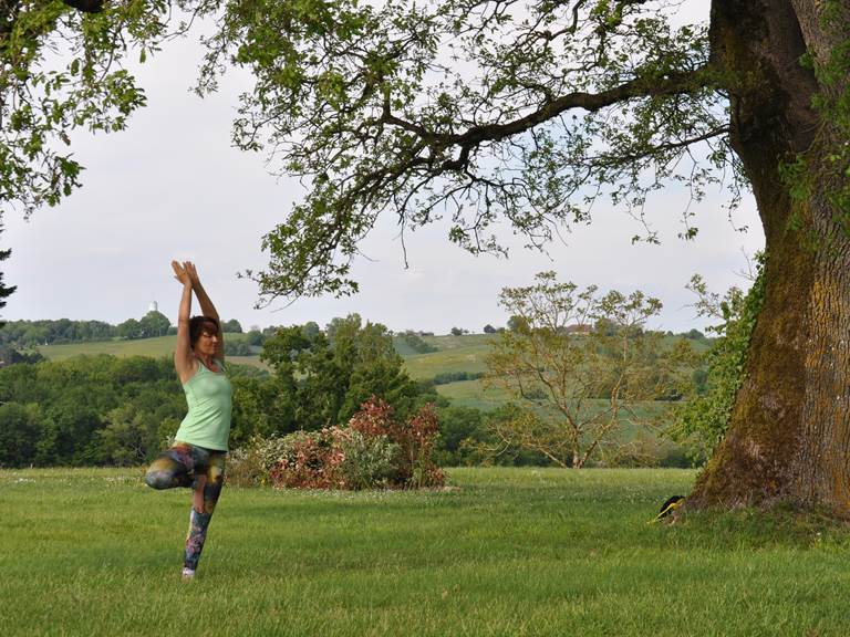yoga à la Kravezac