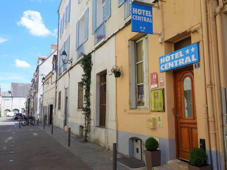 Entrée de l'Hôtel - Rue Gudin