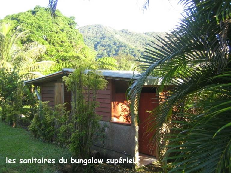 Sanitaires bungalow supérieur