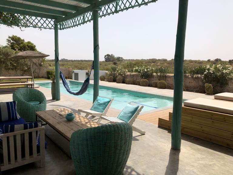 dar Céleste -Essaouira - piscine et terrasse