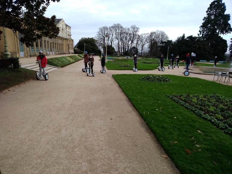 Equipe parc du Thabor Rennes