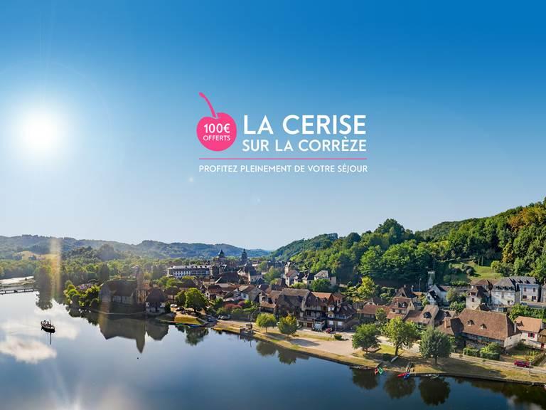 100€ remboursés sur votre séjour en Corrèze
