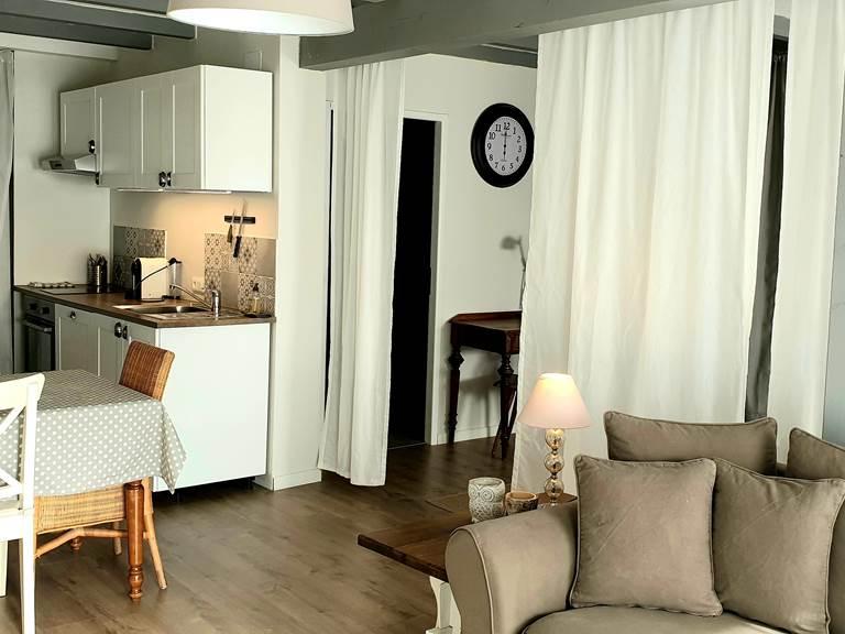 Espace salon, séjour, cuisine