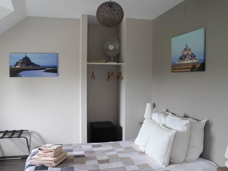 Autre vue de la chambre Mont St Michel
