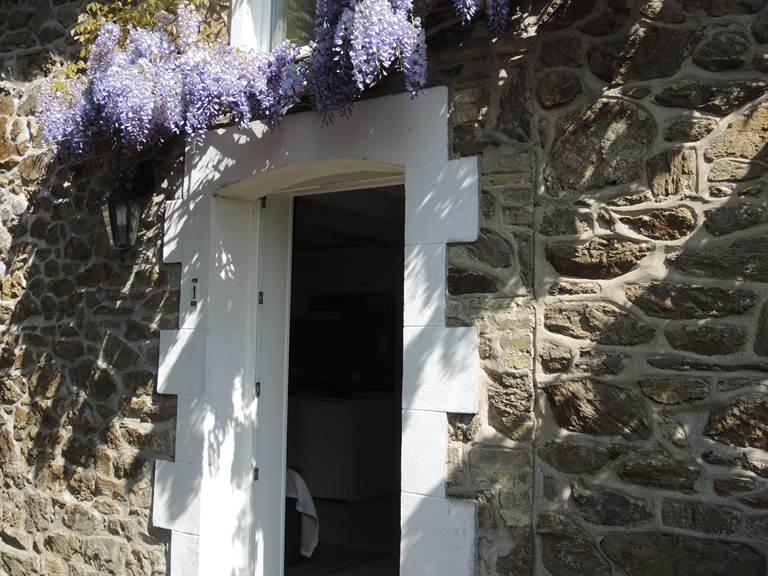 Clos de la Fontaine Dinard, entrée du 1