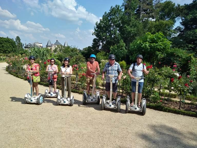 Parc du Thabor Rennes , juillet 2018