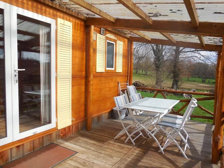 terrasse bungalow la chevauchée creuse