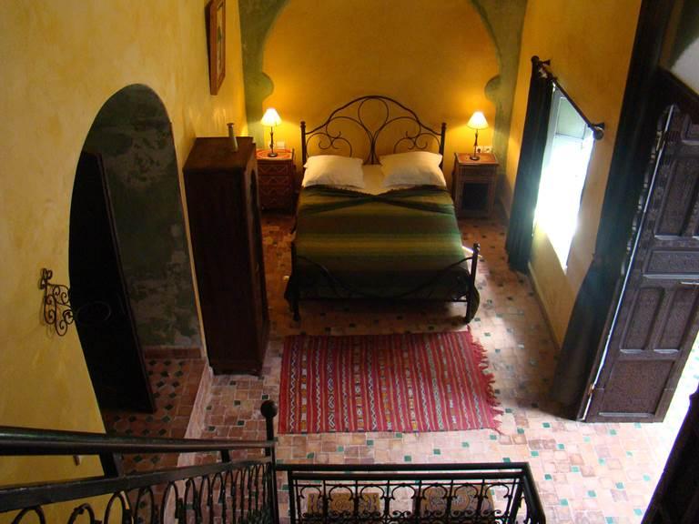 La suite Menthe, vue de la mezzanine