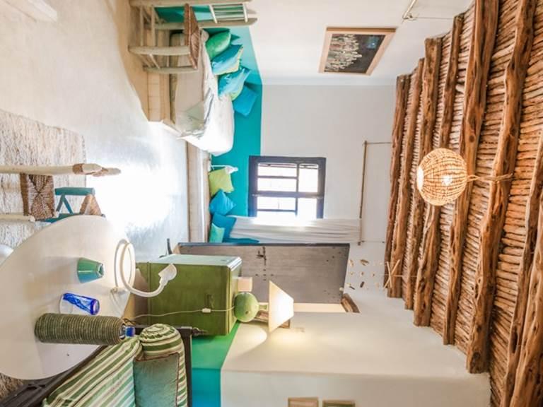 riad Baoussala esaouira - Suite Bleue - salon