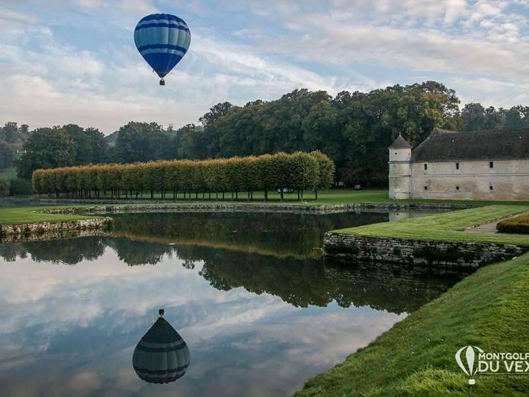 Montgolfiere-Vexin à Villarceaux