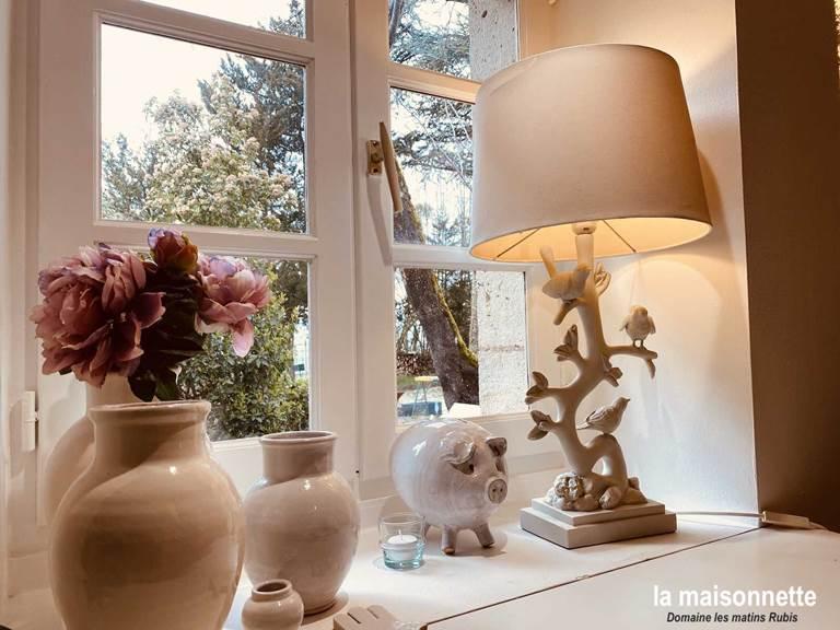Chambre de la Maisonnette des matins rubis (chambre d'hôte près de Toulouse)