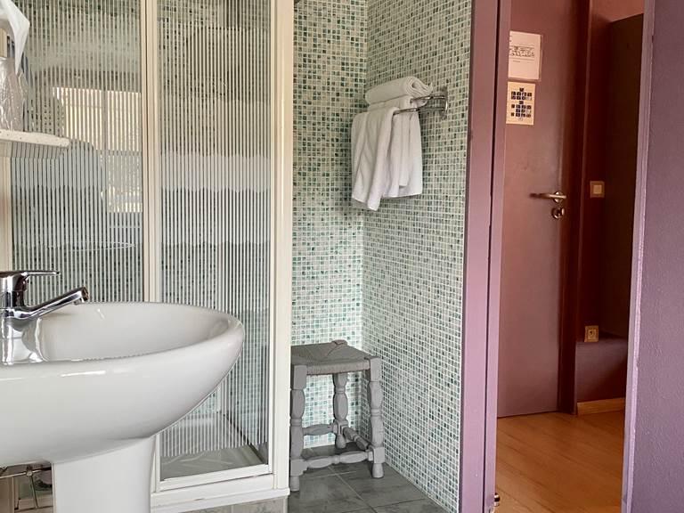 salle d'eau chambre double
