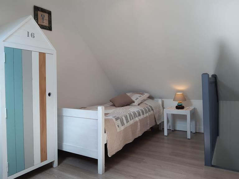 Clos de la Fontaine Dinard, 1ere chambre avec 2 lits