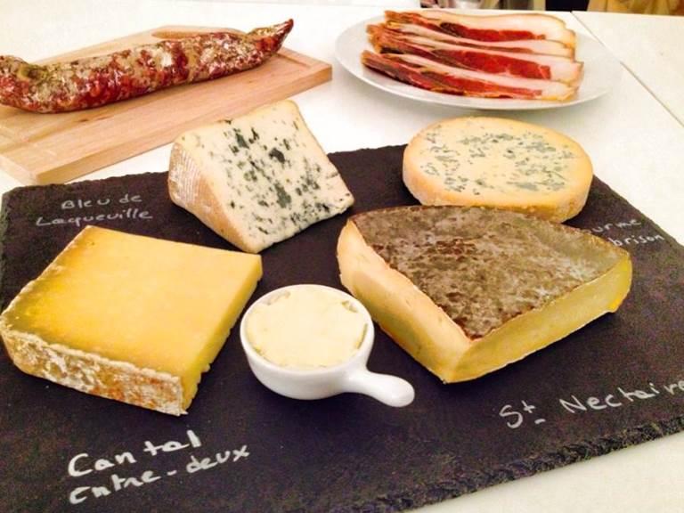 Plateau fromages d'Auvergne