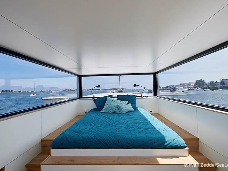 chambre parentale - Lodge Boat L'Endroit