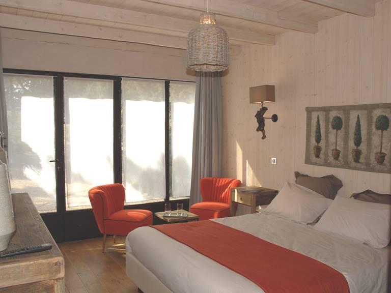 Chambre avec lit en 160 cm