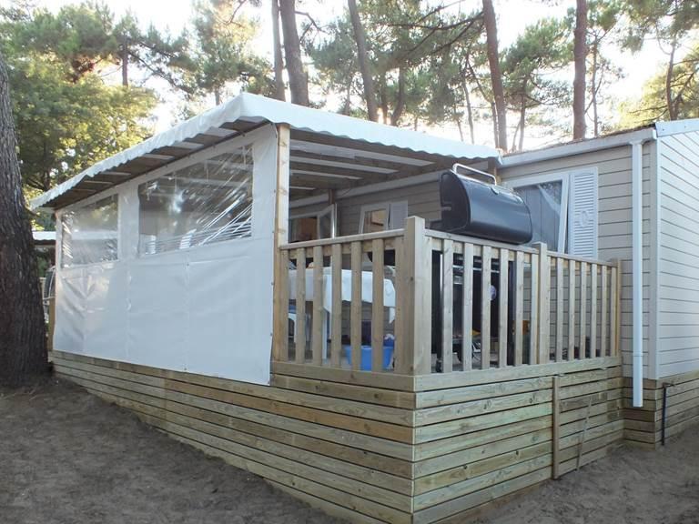 Mobil-Home Langouste - Camping Les Pins d'Oléron - Ile d'Oléron