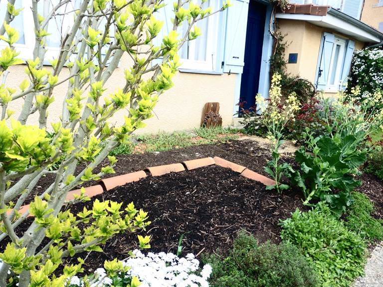 Le jardin du gîte l'Ephémère - Limoges