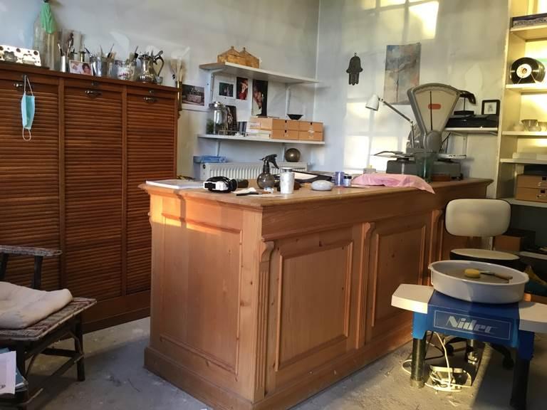 Atelier poterie Maison d'hôte les matins rubis