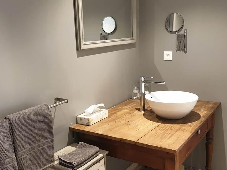 La salle de bain du Pressoir