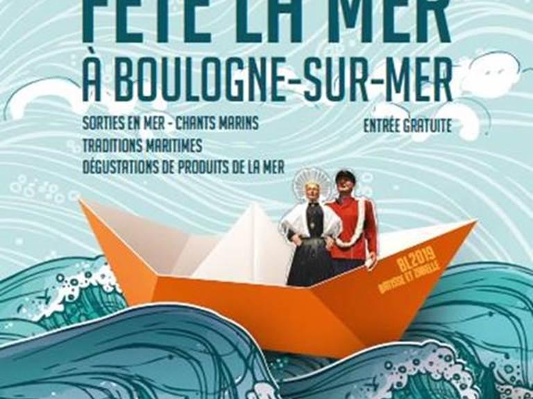 La côte d'Opale fête la mer à Boulogne sur mer du 11 au 14 juillet 2019