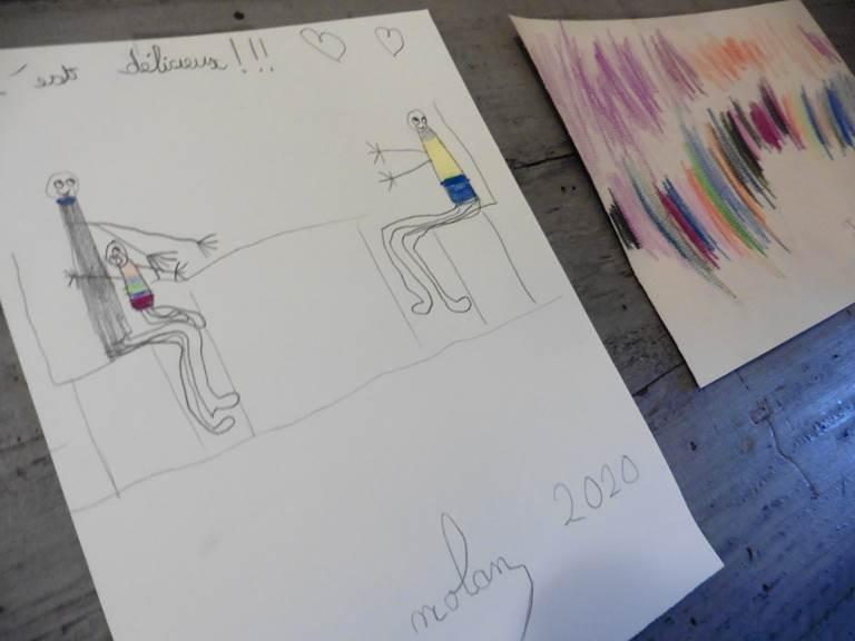 Des dessin pour le Salon de Thé de l'Ephémère - Limoges