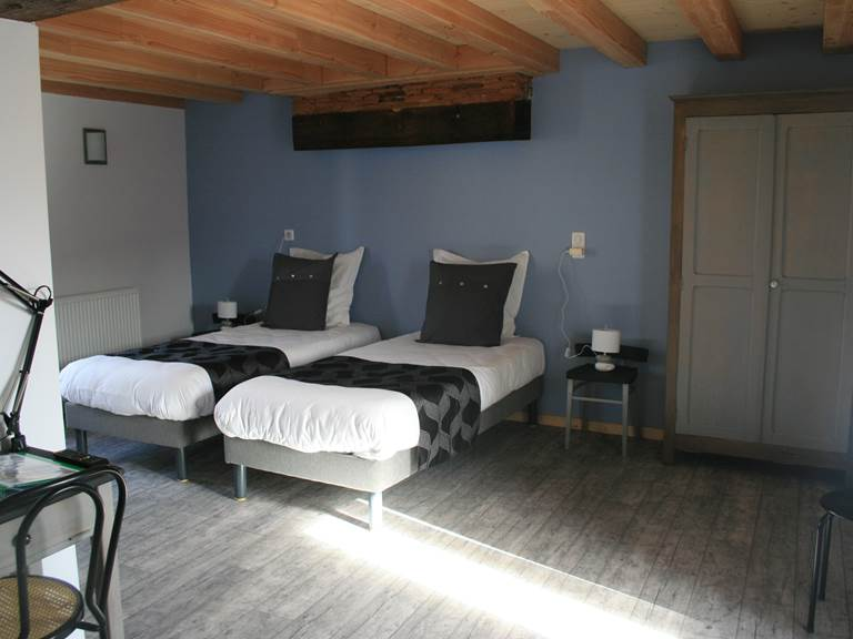 la chambre Alsace Lits simples